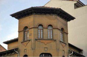 Parte superior del edificio