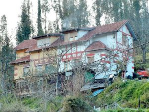 Vista trasera Viviendas pareadas