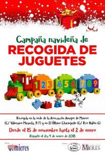 Campaña de recogida de juguetes 2017