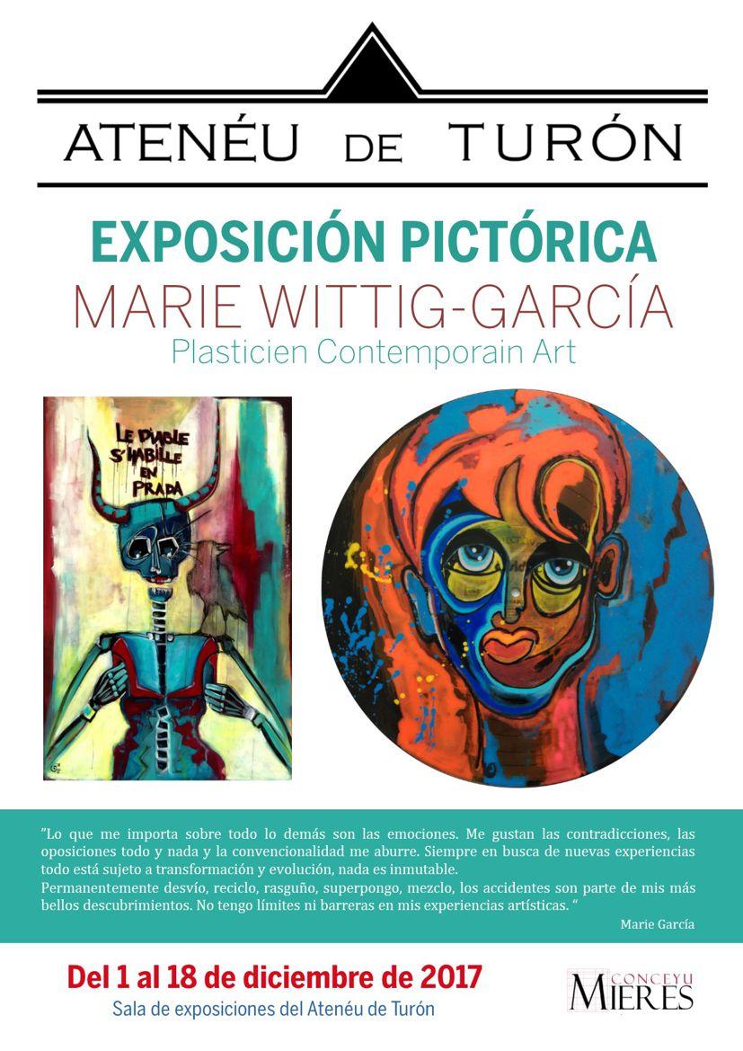 cartel web Exposicion Pictorica Marie Garcia