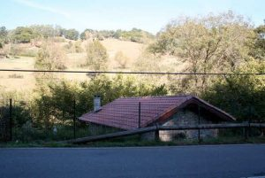 Tejado del Molino de la carretera de Cenera-La Viña