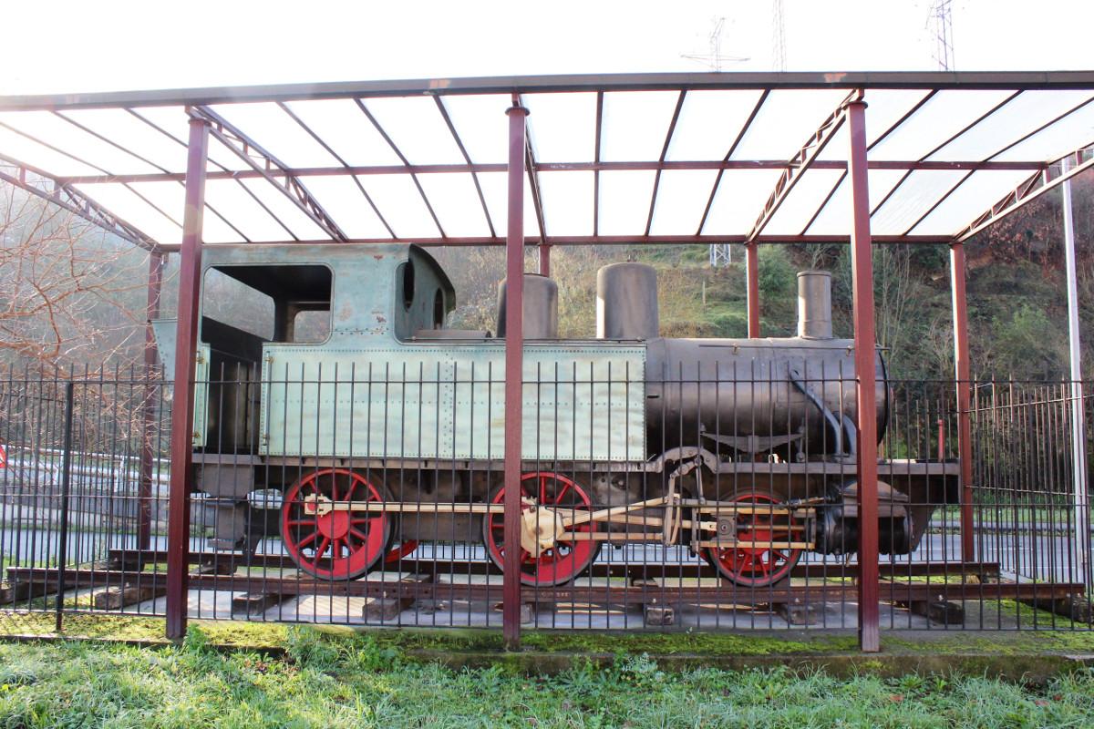 Locomotora de vapor HT110, San Francisco, Turón