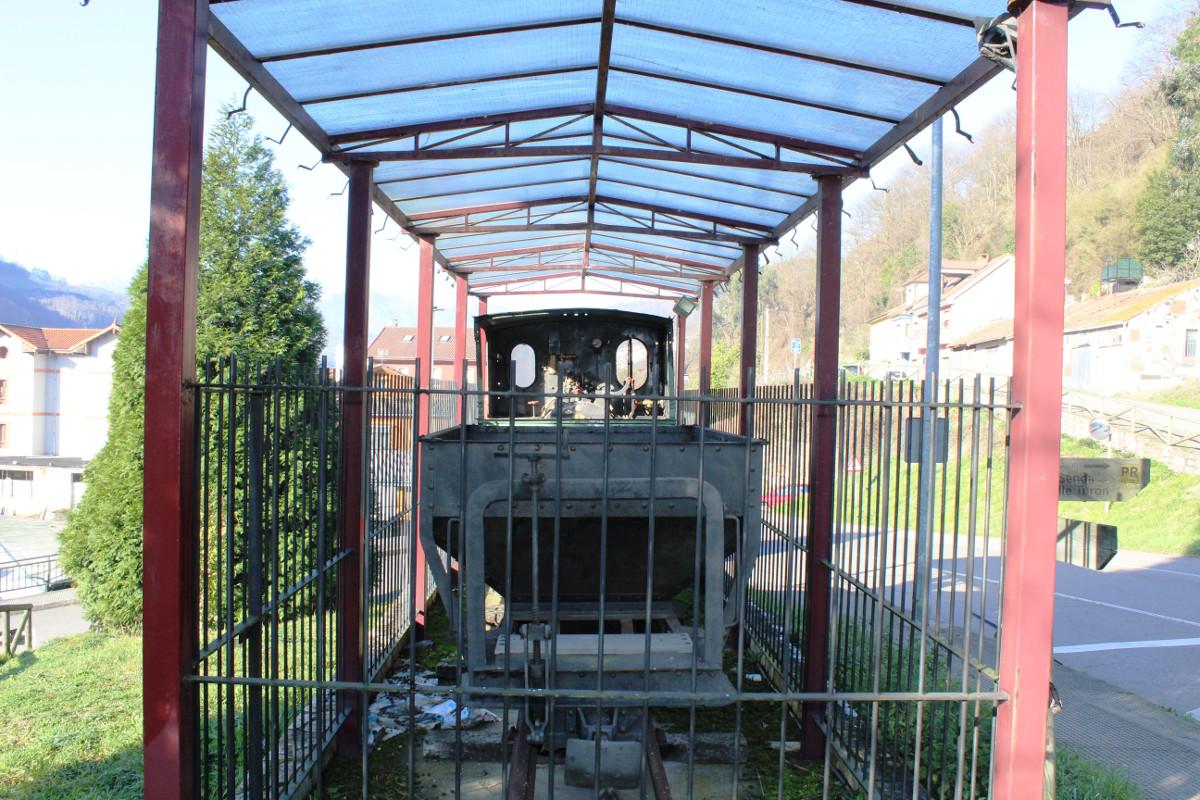 Locomotora de vapor Turón3, La Cuadriella, Turón