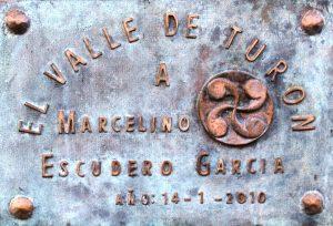 Placa Busto a Marcelino Escudero