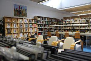 Sala de lecturas y audiovisual