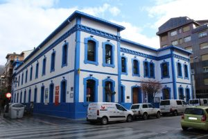 Vista general de la Casa de la cultura Teodoro Cuesta