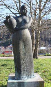 Escultura Aguadora