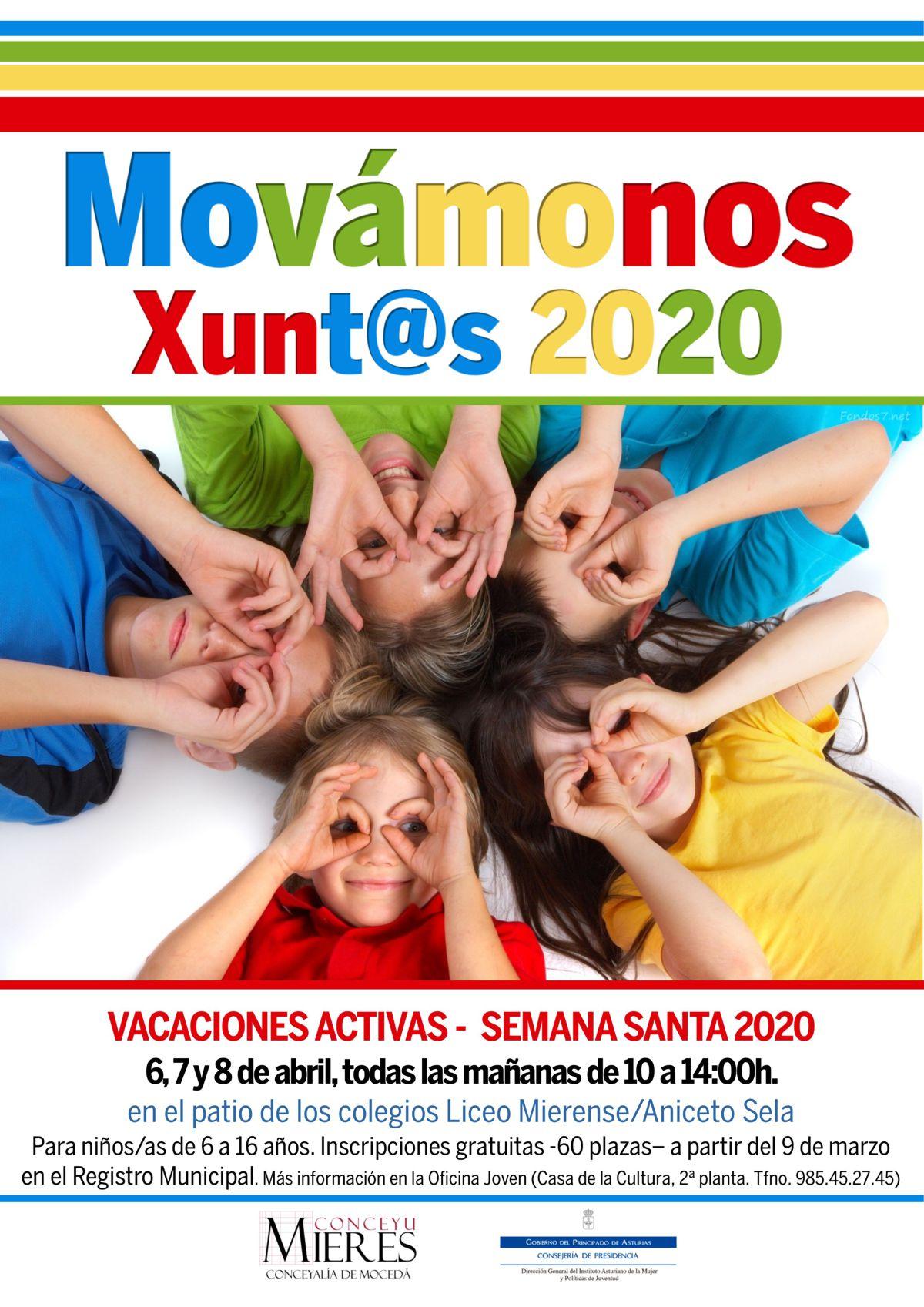 Movamonos Xuntos 2020 Semana Santa Mieres