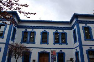 Fachada principal de la  Casa de la cultura