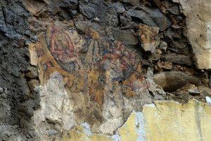 03-Pinturas murales El Llugarin-Tercera escena Descenso de Cristo a los Infiernos