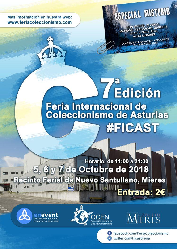 7ª Feria Internacional De Coleccionismo De Asturias 2018 Ayuntamiento De Mieres