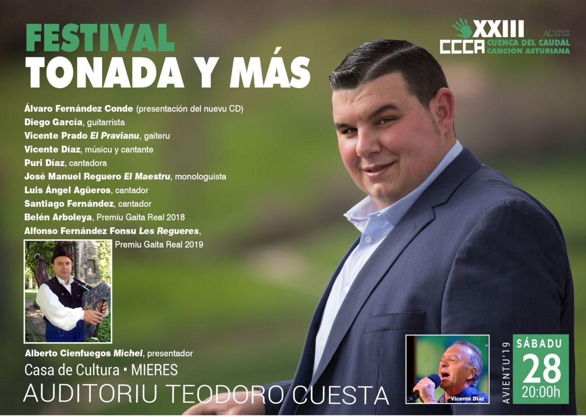 Cartel Web Tonada Y Mas 2019