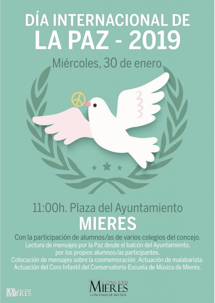 Cartel Dia De La Paz 2019
