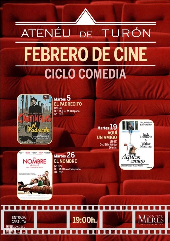 Cartel Web Cine Turón 201902