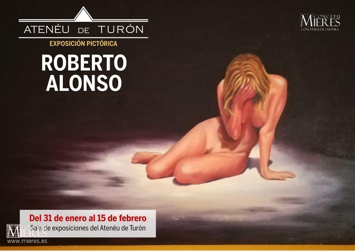 Cartel Web Exposicion Pictorica Roberto Alonso Turón 2019