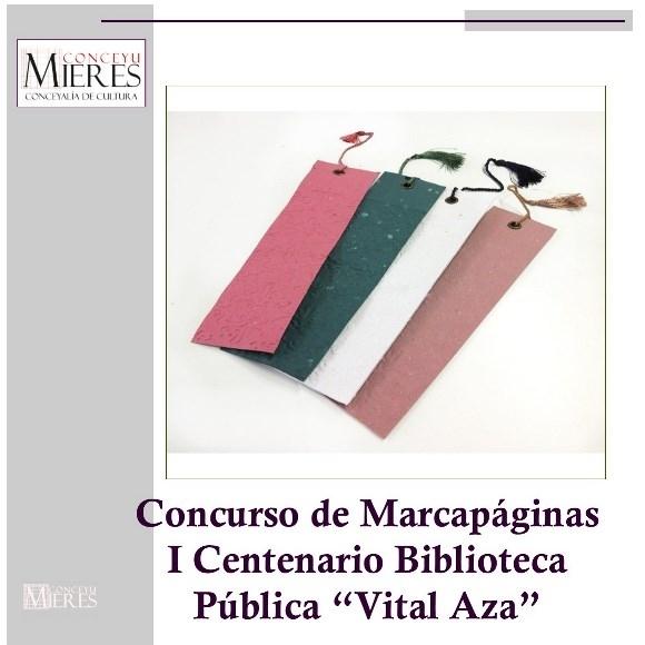 Cartel concurso Marcapáginas 2019