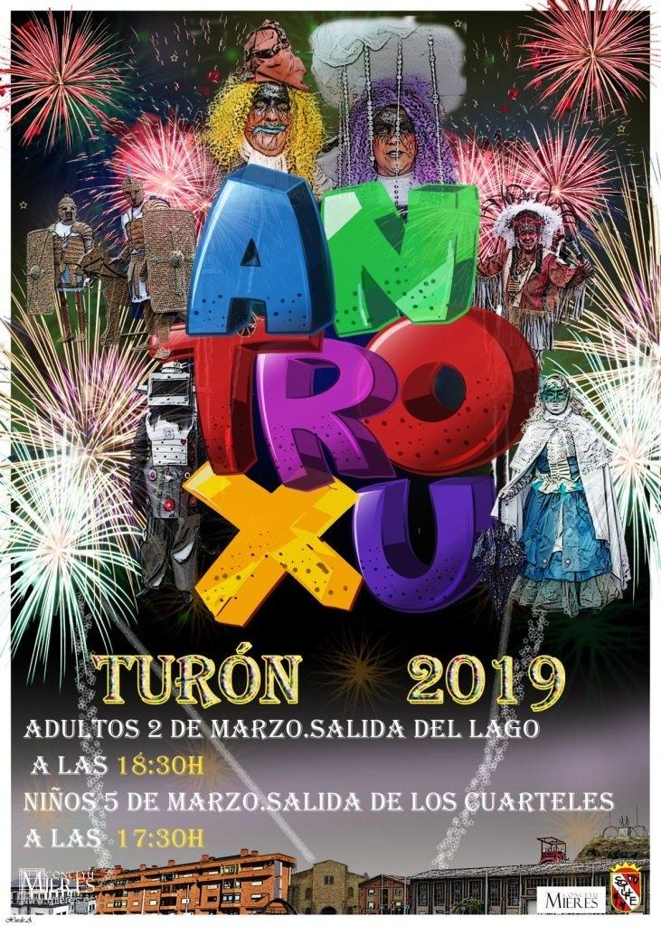 Cartel Web Antroxu Turón 2019