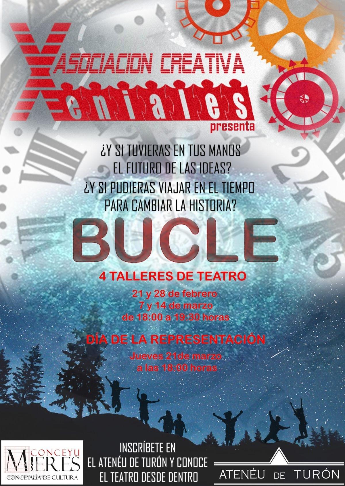 Cartel Web Taller Teatro Ateneo Turon Bucle