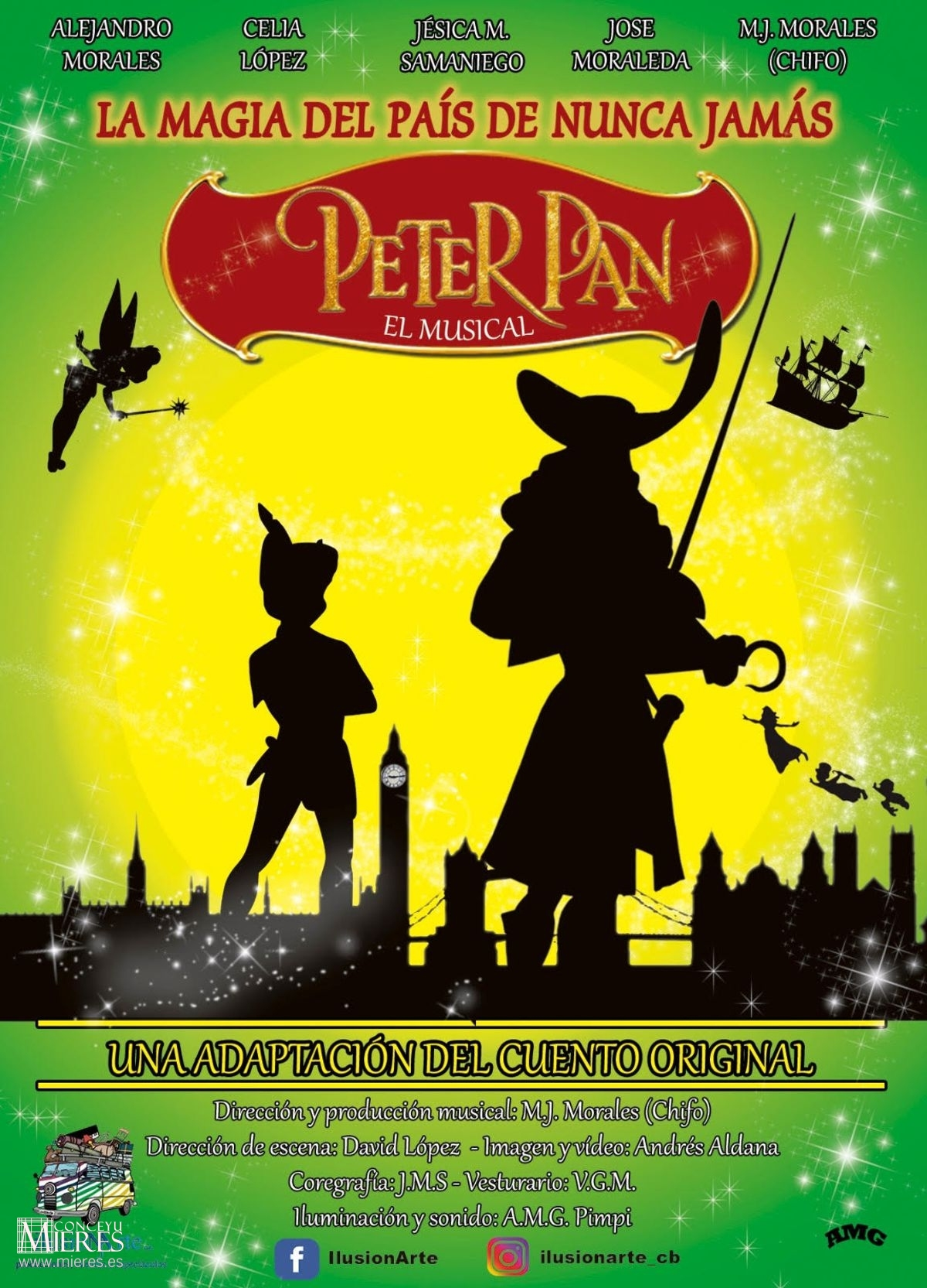 Musical Peter Pan Mieres