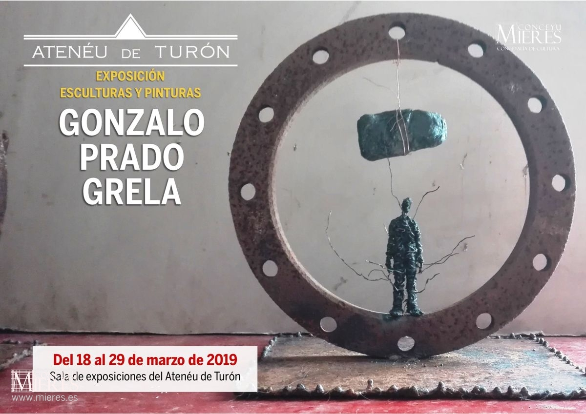 Cartel Web Exposicion Pictorica Gonzalo Prado Turón 2019