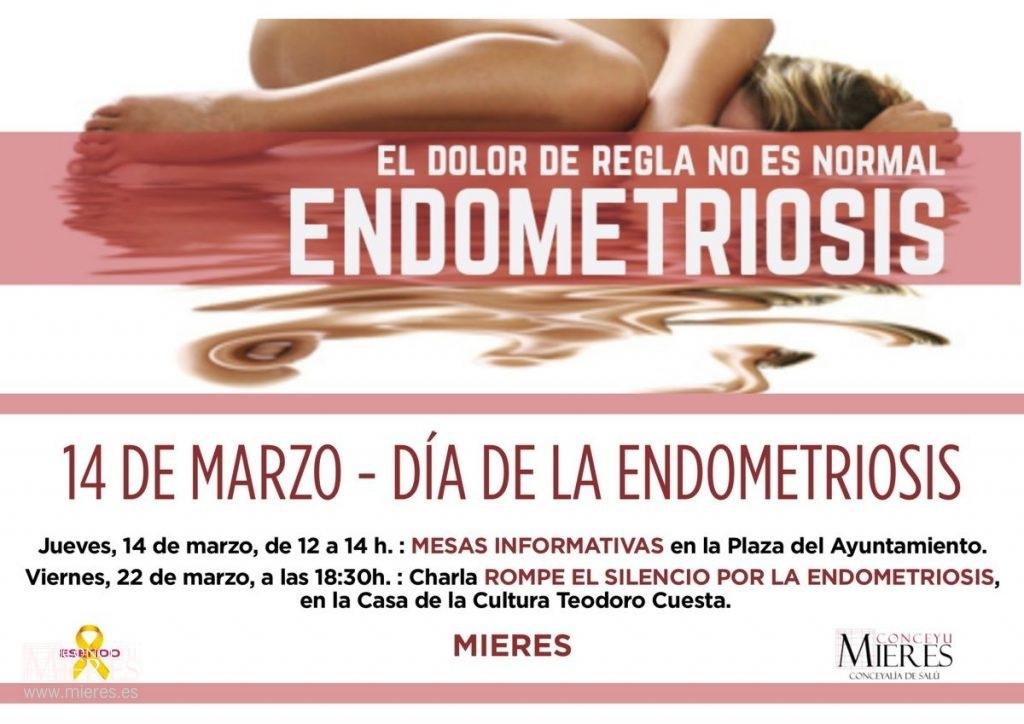 Cartel Web Mesas Informativas Dia Endometriosis Mieres 2019