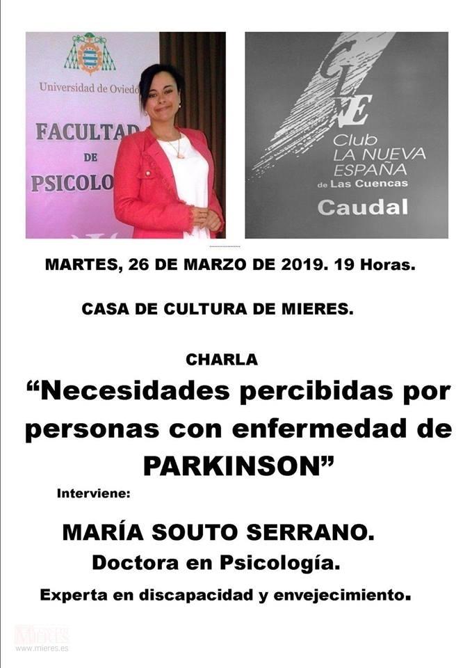 Charla Parkinson Marzo 29