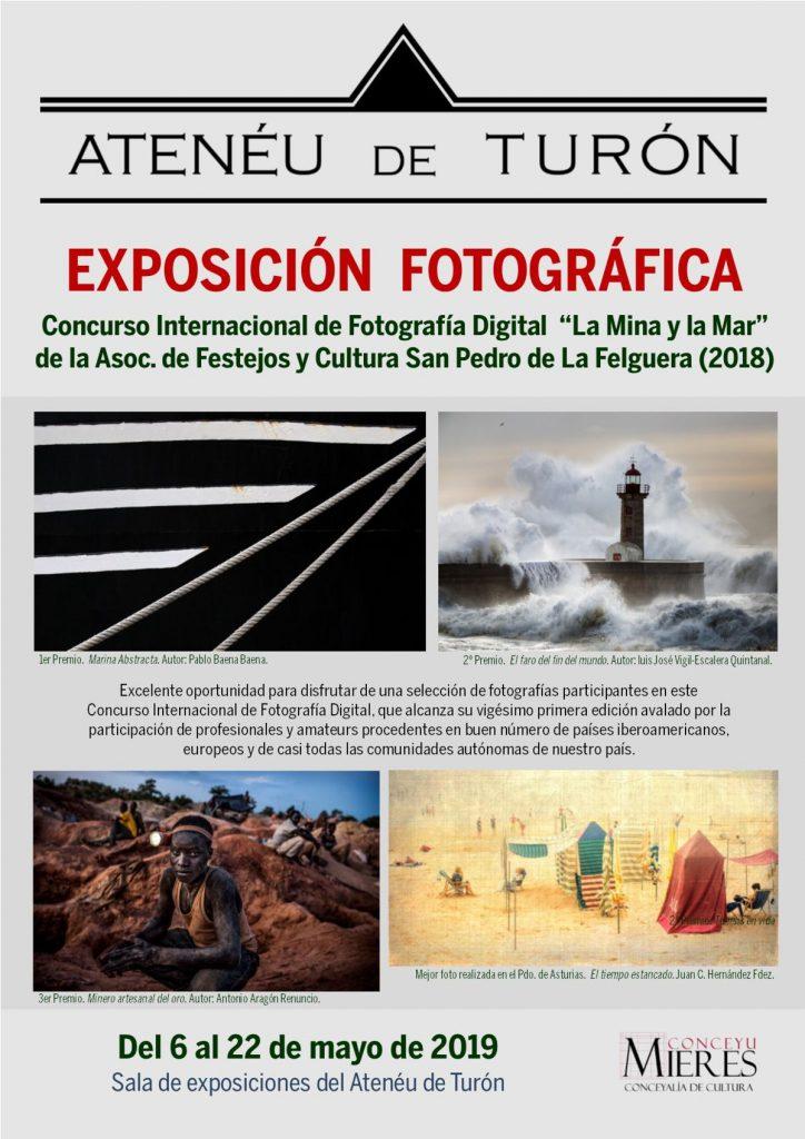 Cartel Web Exposición Concurso La Mina Y El Mar 2019