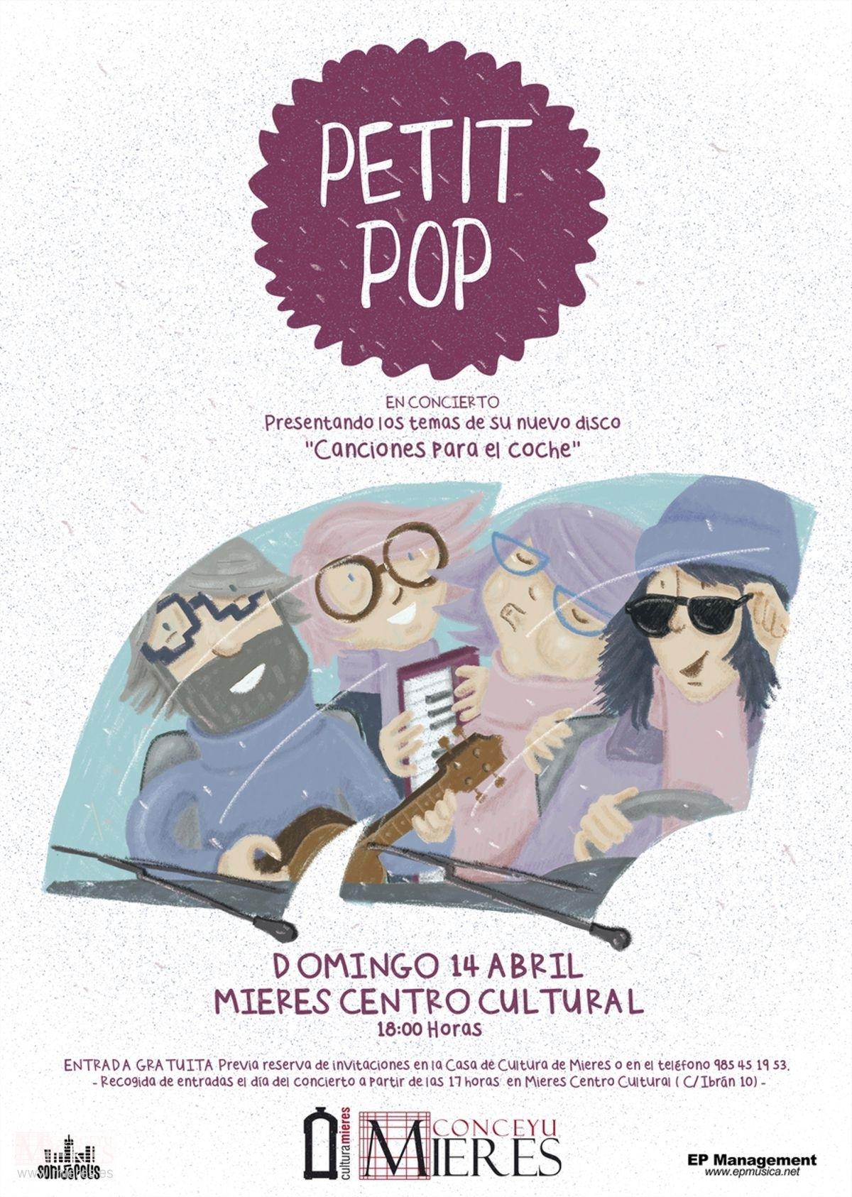 Cartel Web Petit Pop Mieres 2019