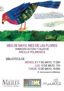cartel web taller bibliotecas mayo