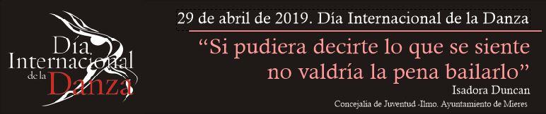 Banner Dia Internacional Danza 2019 Dia 4
