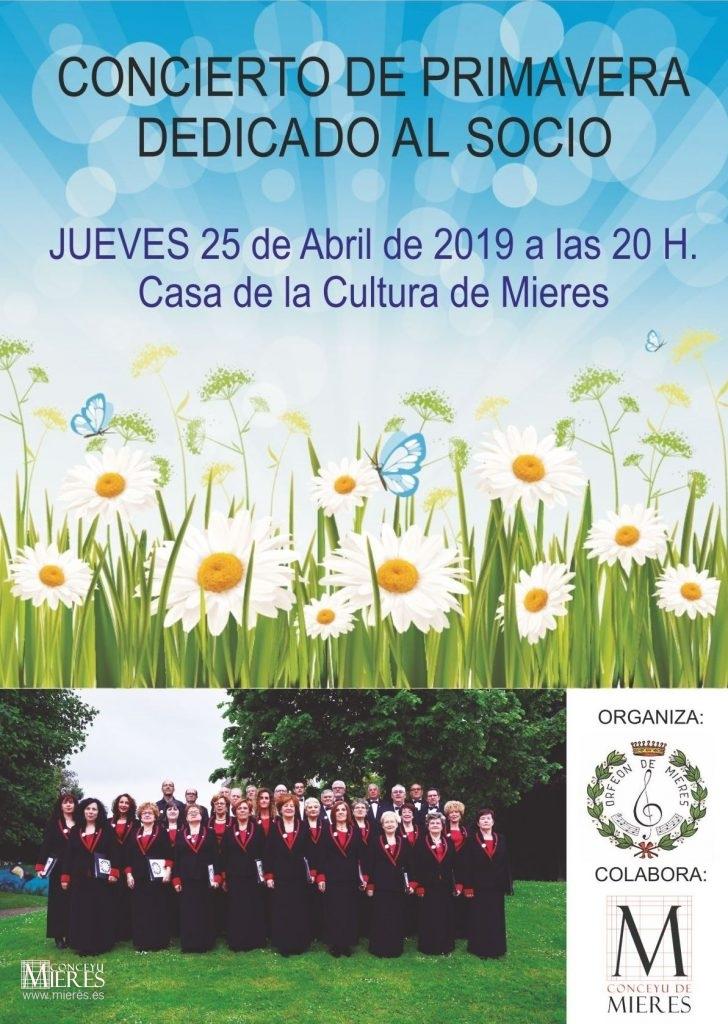 Cartel Web Concierto Primavera 2019 Orfeon De Mieres