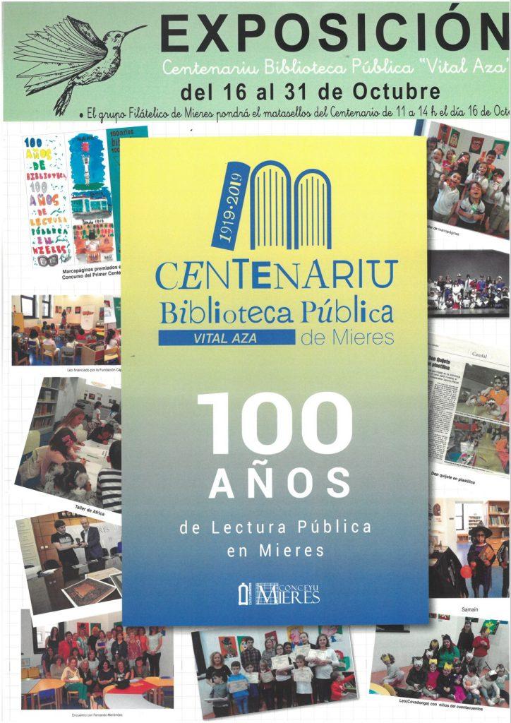 Cartel Web Exposicion Centenario Biblioteca Publica