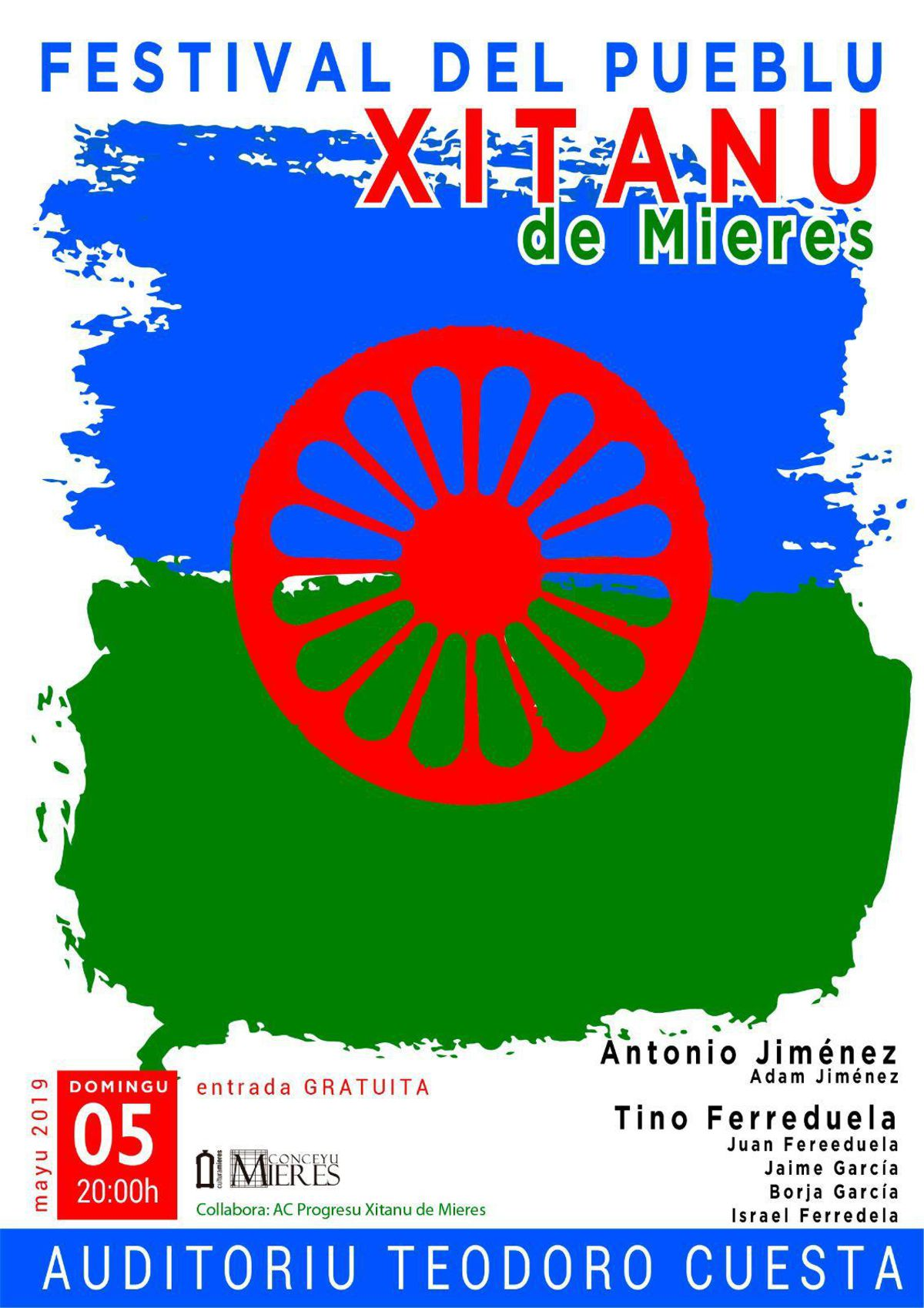 Cartel Web Festival Pueblu Xitanu Mieres