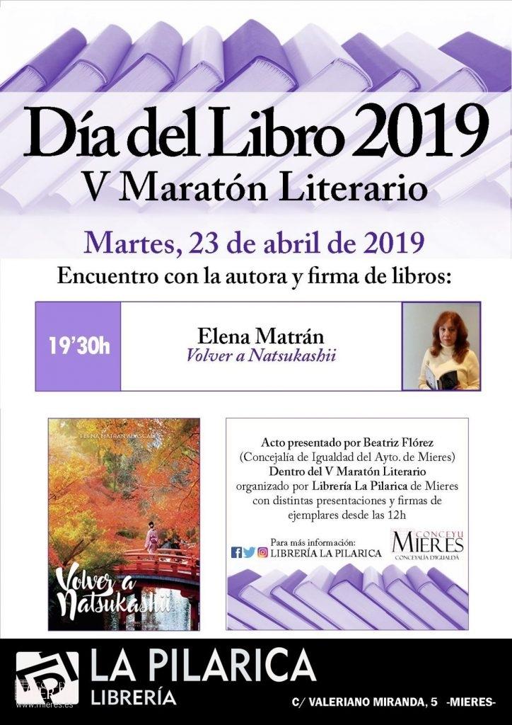 Cartel Web Presentacion Elena Matran