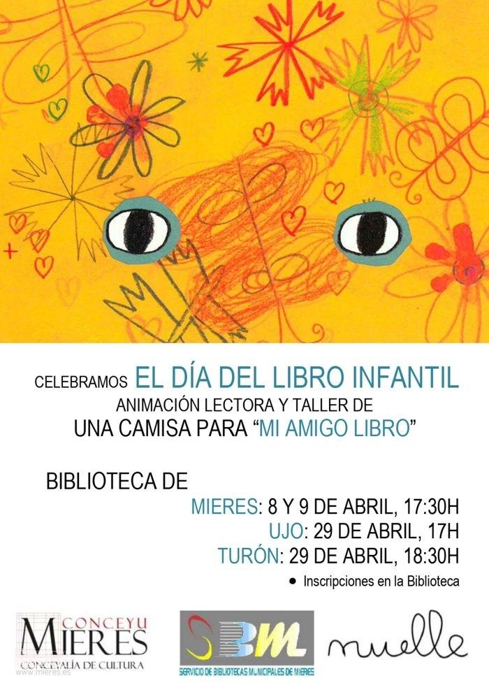 Cartel Web Taller Bibliotecas Abril