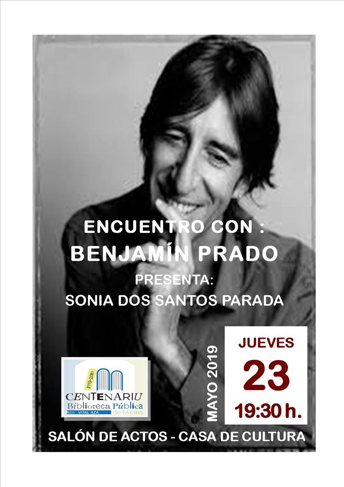 Cartel Benjamín Prado