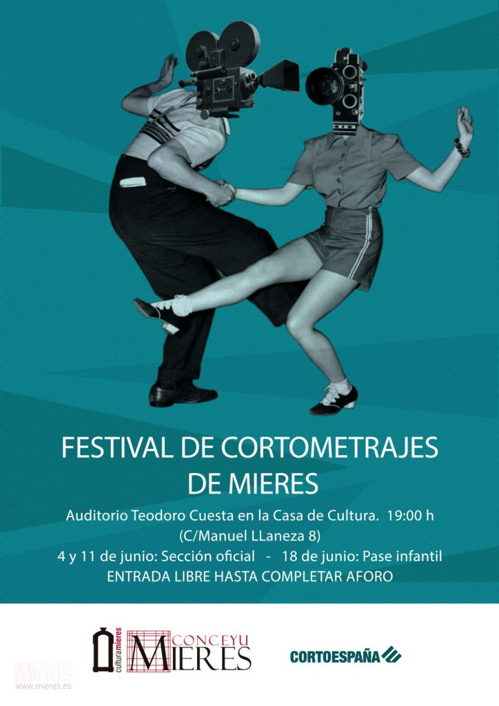 Cartel Web Festival Cortos Mieres 2019