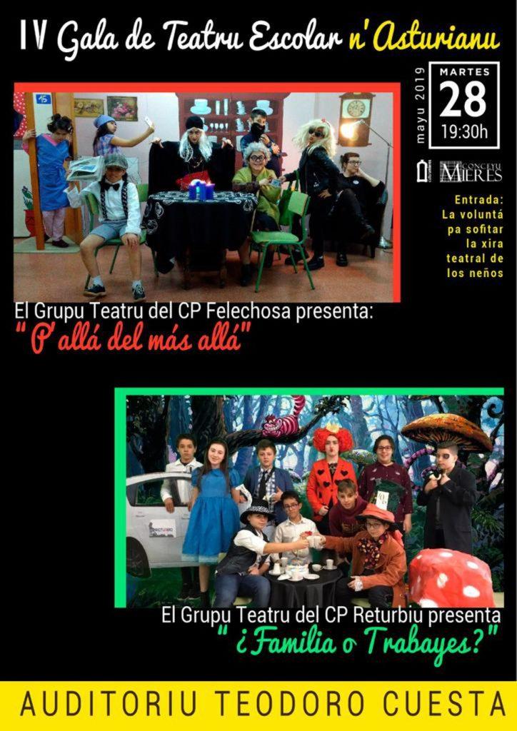 Cartel Gala Teatro Escolar 2019
