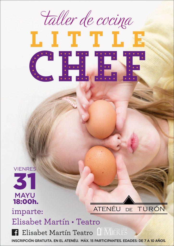 Cartel Little Chef Turon