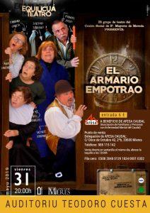 Cartel Web Equilicua Teatro Mieres Mayo