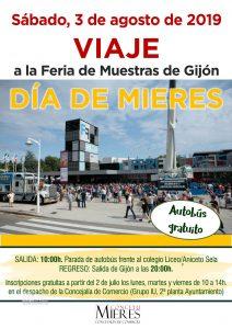 Cartel Web Viaje Feria Muestras Gijon 2019