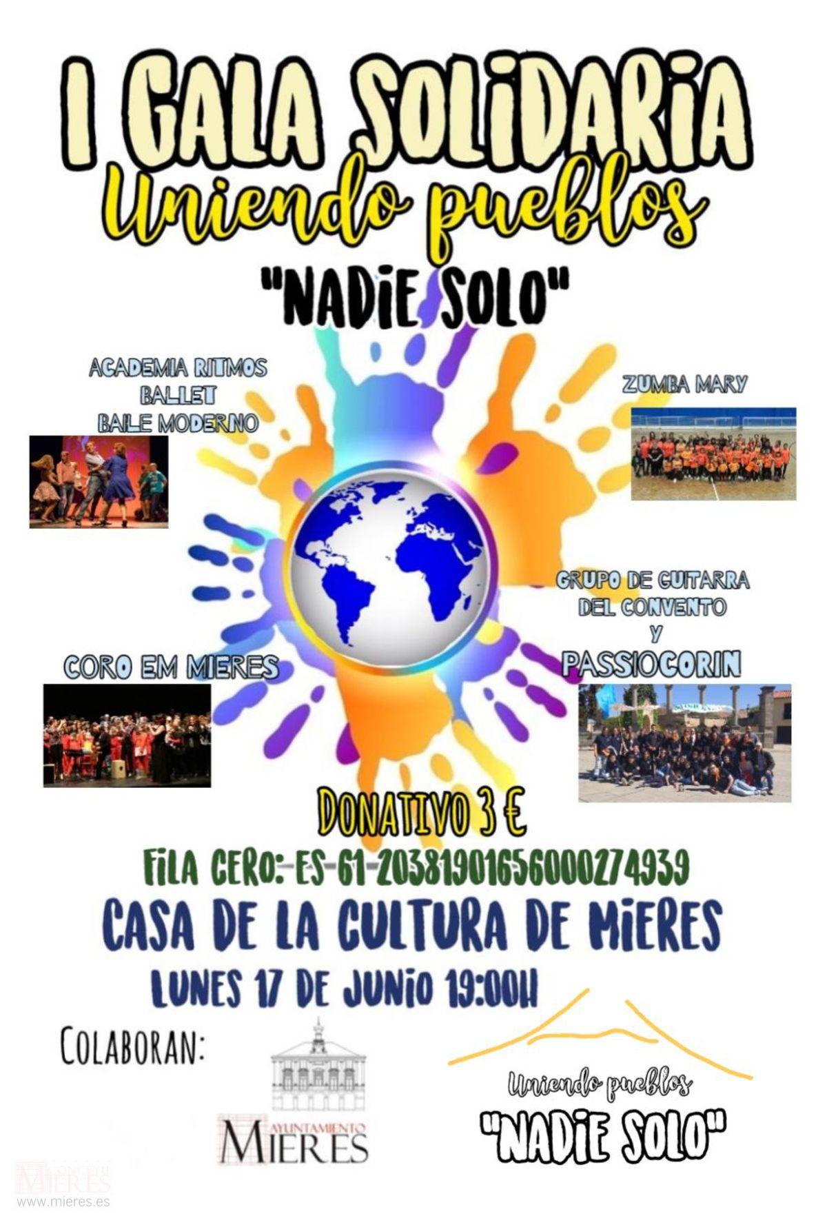 I Gala Solidaria Uniendo Pueblos 2019