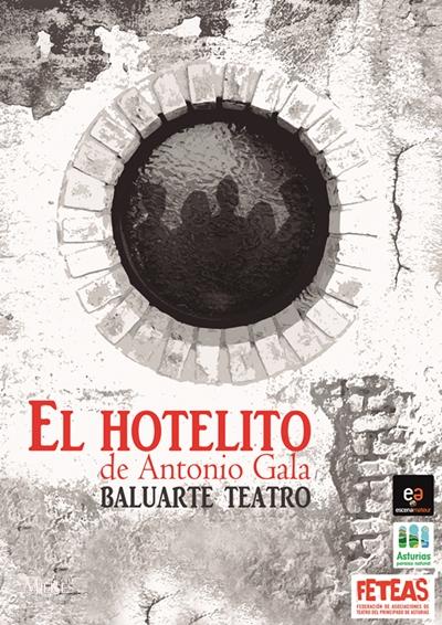 Cartel Web El Hotelito Baluarte Teatro Mieres
