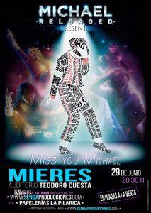 Cartel Web Michael Jackson Reloaded Mieres