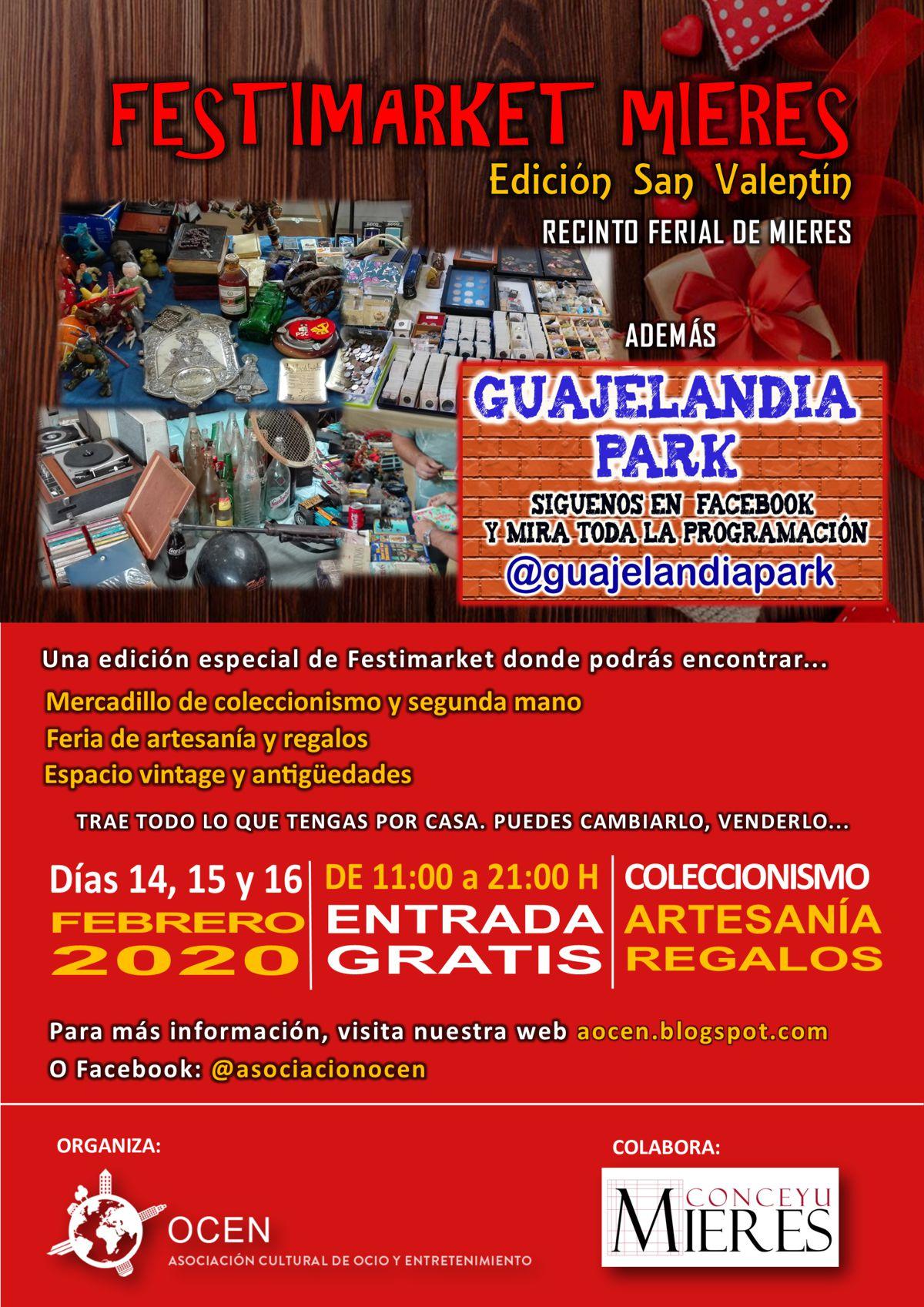 Cartel Web Festimarket Ed San Valentin 2020