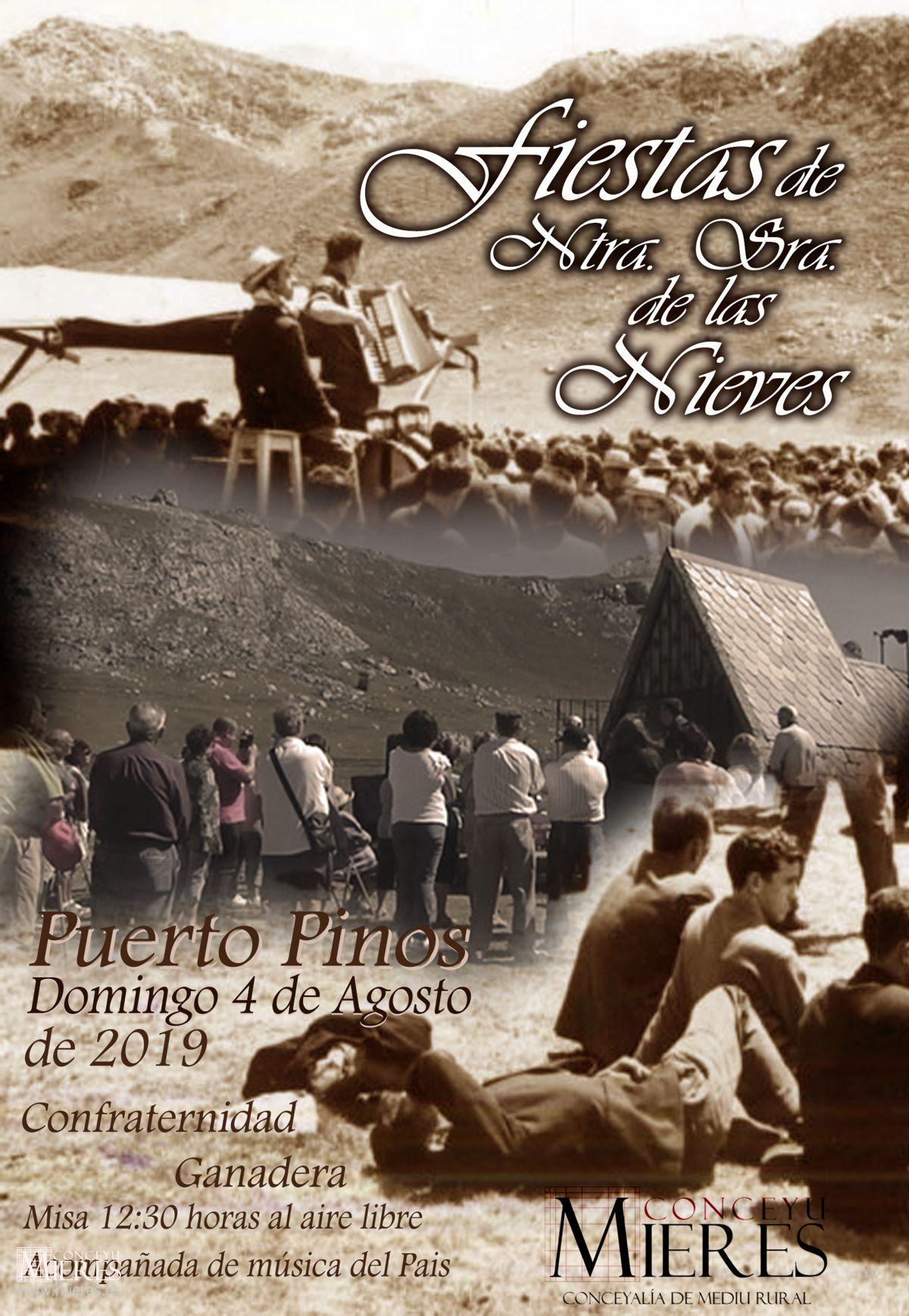 Cartel Web Fiesta Puerto Pinos Agosto 2019