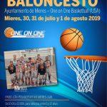 Cartel Web Campus Internacional Baloncesto 2019