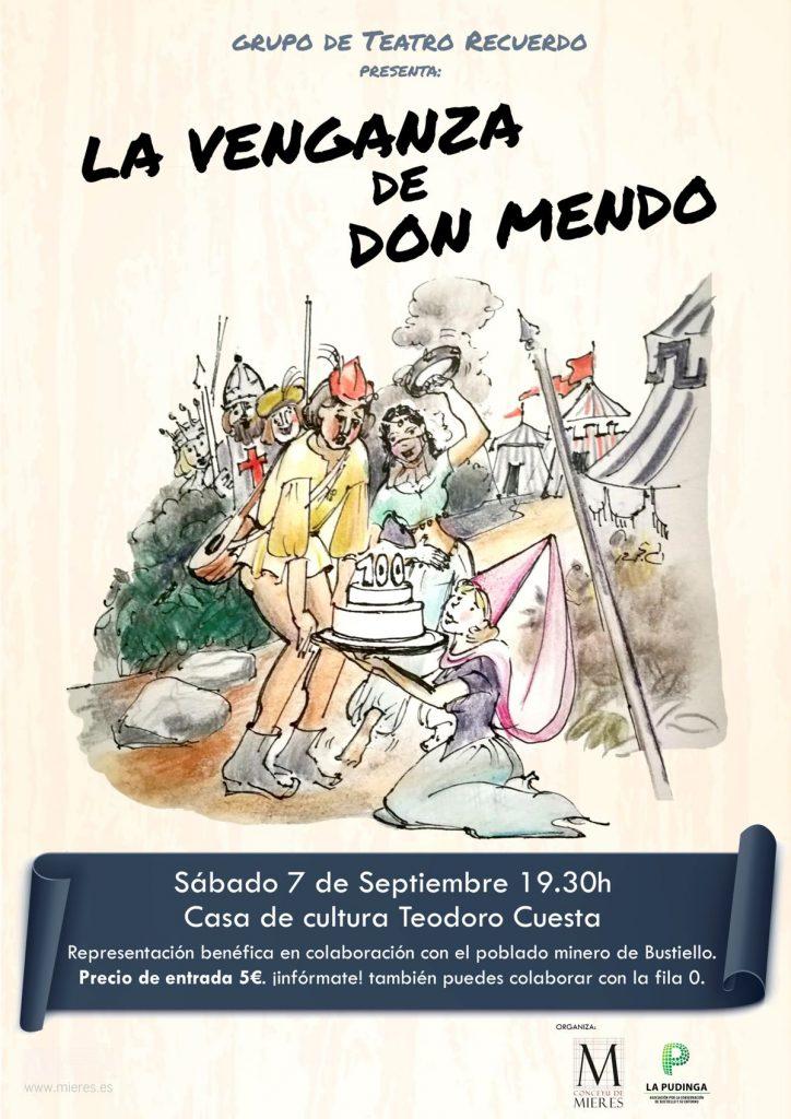 La Venganza De Don Mendo Teatro