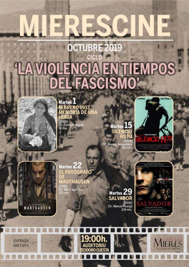 Cartel Web Cine Violencia Fascismo 201910
