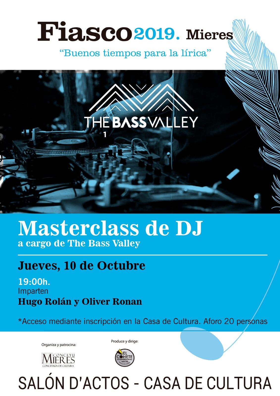 Fiasco 2019 Masterclass DJ